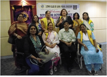 Skin Donation awareness programme at Lions Club