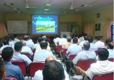 Skin Donation lecture at Hindustan Petroleum Co.