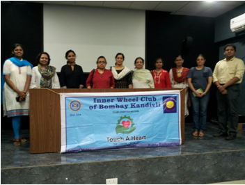 Skin Donation Awareness Program at Thakur College auditorium