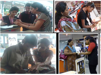 Skin Donation awareness programme at Big Bazar